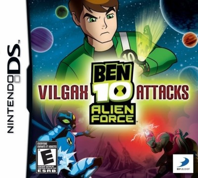 BEN 10 : Alien Force Vilgax Attacks(for DS)