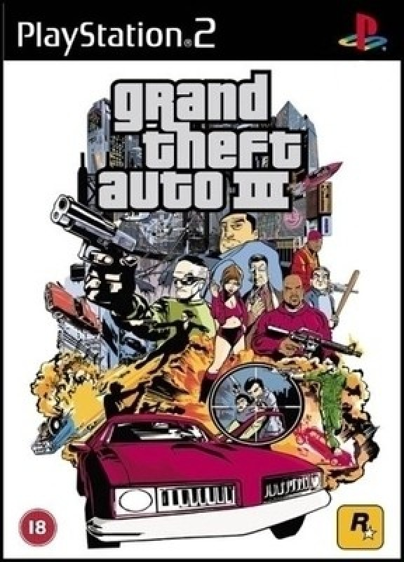 Grand Theft Auto III(for PS2)