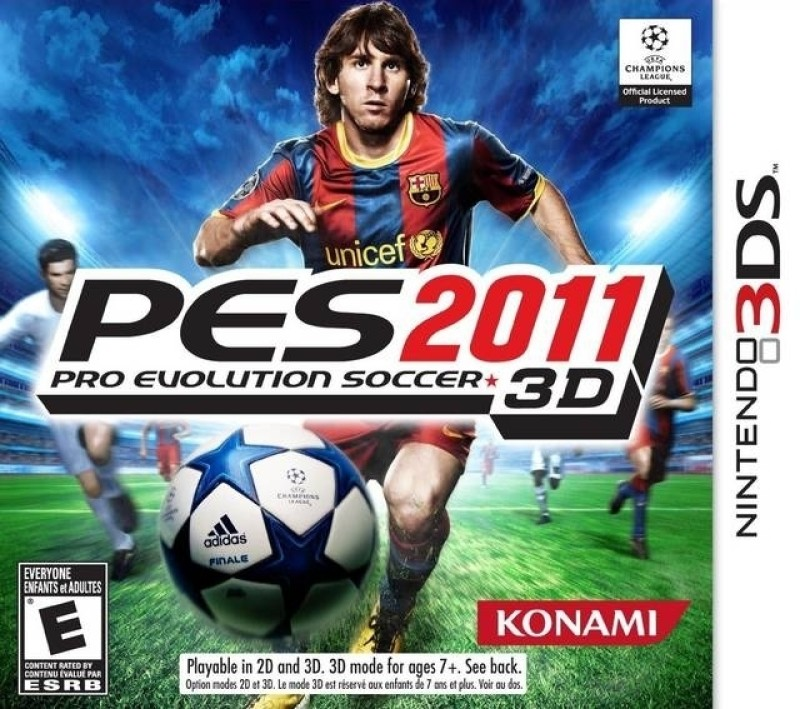 Pro Evolution Soccer 2011 (3D)(for 3DS)