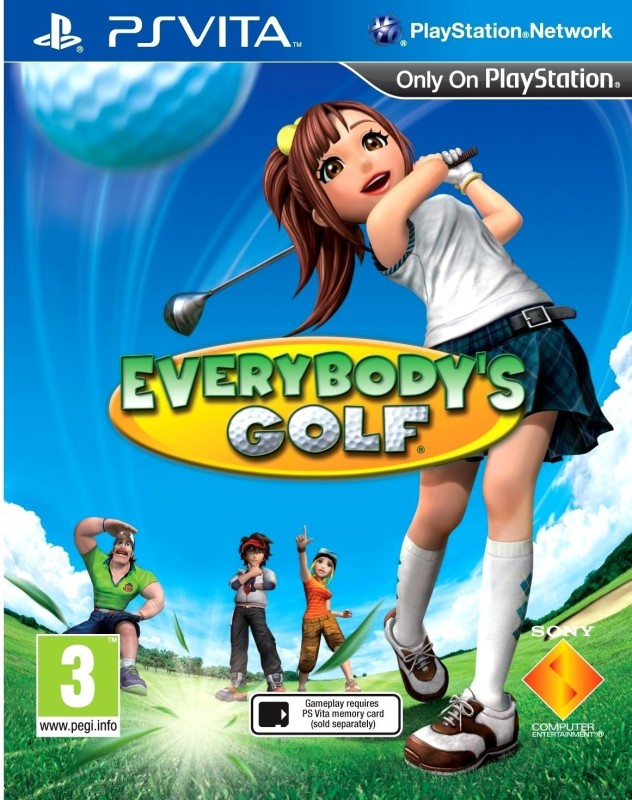 Everybody's Golf(for PS Vita)