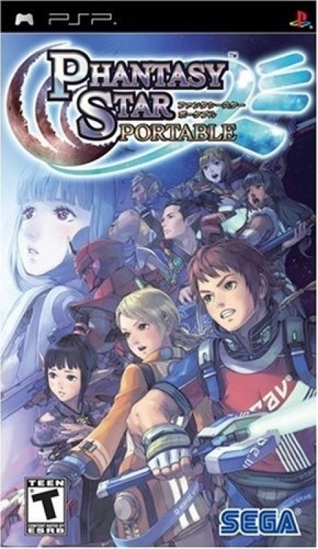 Phantasy Star Portable(for PSP)