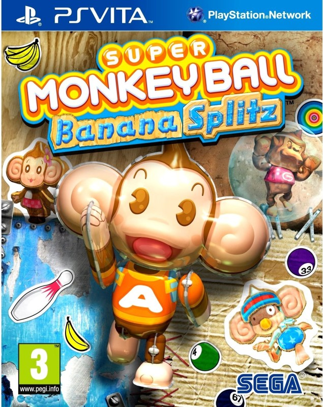 Super Monkey Ball: Banana Splitz(for PS Vita)