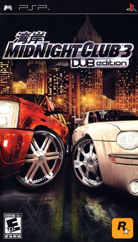 Midnight Club 3(for PSP)