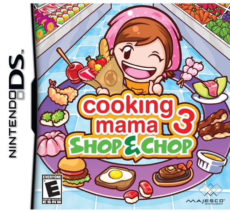 Cooking Mama 3 : Shop & Chop(for DS)