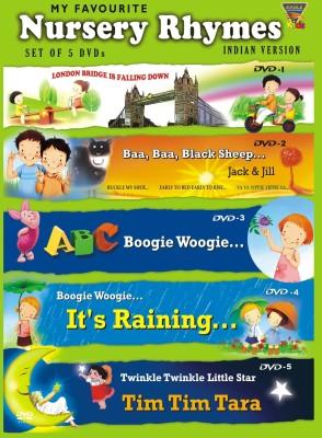My Favourite Nursery Rhymes - 1 (Set of 5 DVD,s)