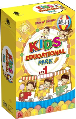 Kids Educational Pack Set - 1(VCD English)