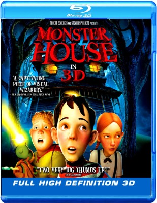 Monster House 3D(Blu-ray English)