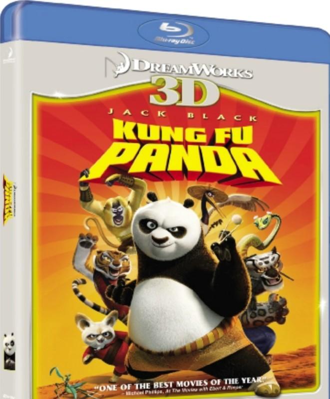 Kung Fu Panda (3d)(3D Blu-ray English)