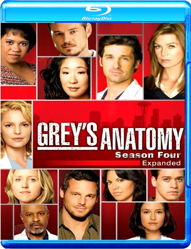 Grey's Anatomy Season 4 Complete(Blu-ray English)