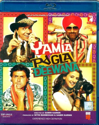 Yamla Pagla Deewana(Blu-ray Hindi)
