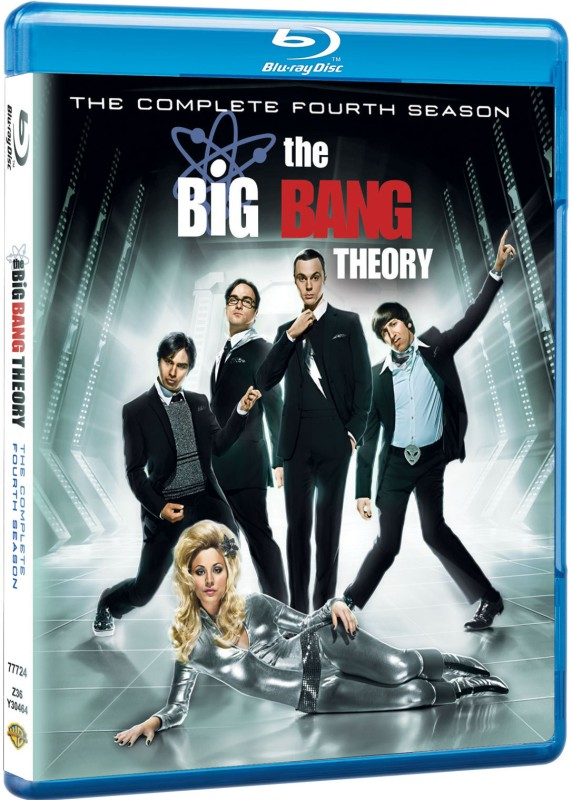 The Big Bang Theory 4(Blu-ray English)