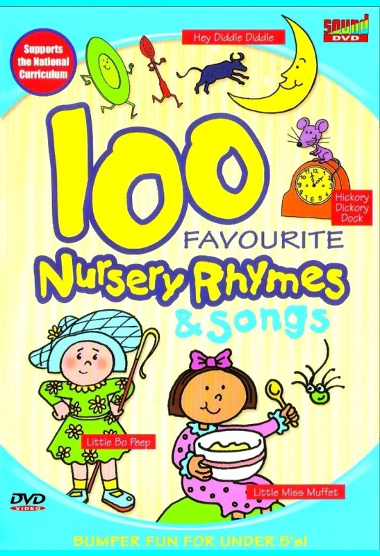 100 Favourite Nursery Rhymes & Songs(English)