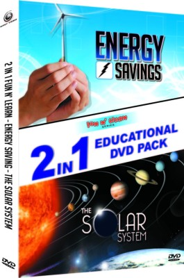 Energy Saving And The Solar System-2 In 1 Educational DVD Pack
