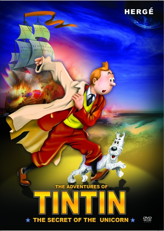 Tintin - The Secret Of The Unicorn(DVD English)