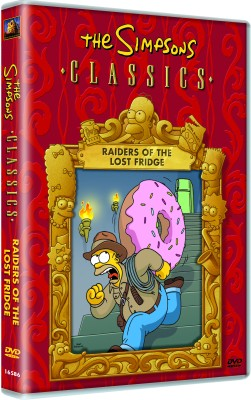 The Simpsons Classics Raiders Of The Lost Fridge, Complete