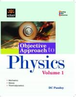 Objective Approach to Physics (Volume - 1) (English) 1st Edition price comparison at Flipkart, Amazon, Crossword, Uread, Bookadda, Landmark, Homeshop18
