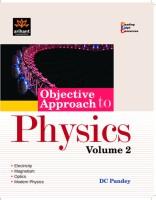 Objective Approach Physics (Volume - 2) (English) 1st Edition price comparison at Flipkart, Amazon, Crossword, Uread, Bookadda, Landmark, Homeshop18