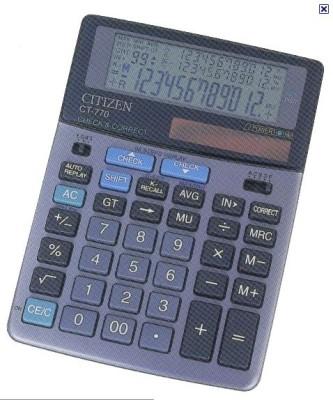 Citizen CT-770 Basic Calculator(12 Digit)