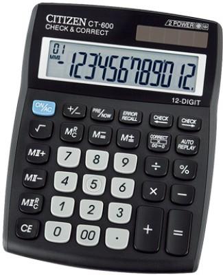 Citizen CT-600 J Basic Calculator(12 Digit)