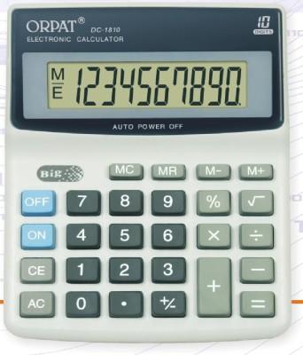 Orpat DC 1810 Basic  Calculator(10 Digit)