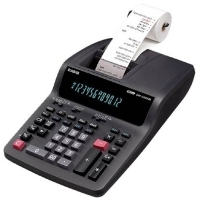 Casio DR 120 TM BK Printing  Calculator