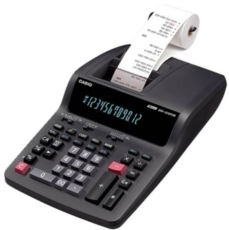 Casio DR 120 TM BK Printing  Calculator(12 Digit)