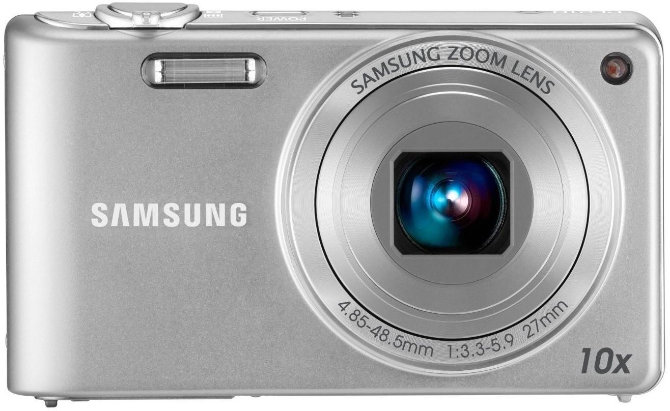 SAMSUNG PL210 Mirrorless Camera(Silver)