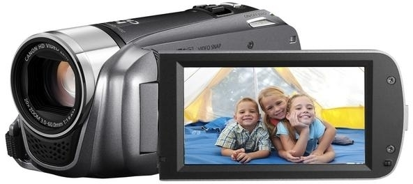 Canon HF R205 Camcorder Camera(Grey)