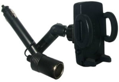 Amzer 83814 Universal Lighter Socket Mount with Power Dongle
