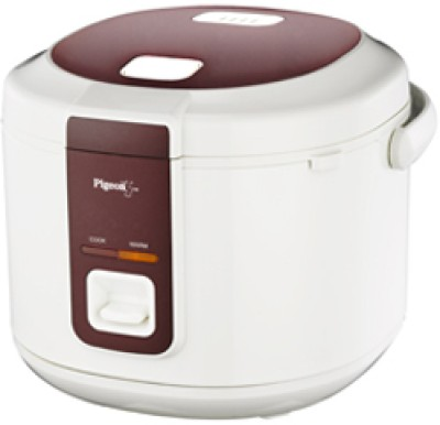 Pigeon 3D Electric Rice Cooker with Steaming Feature(1.8 L)