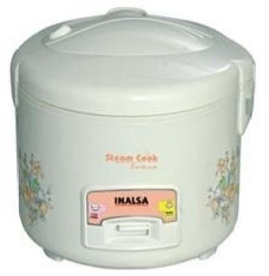 Inalsa Steam cook Dx Electric Rice Cooker with Steaming Feature