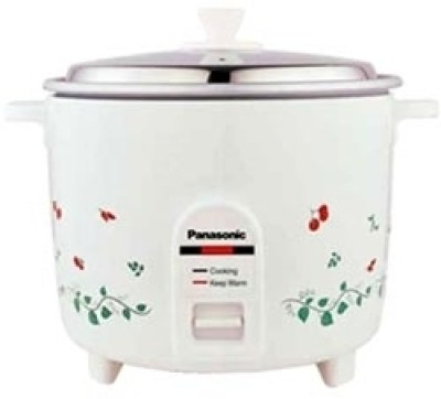 Panasonic SR WA 18H Electric Rice Cooker(1.8 L, White)