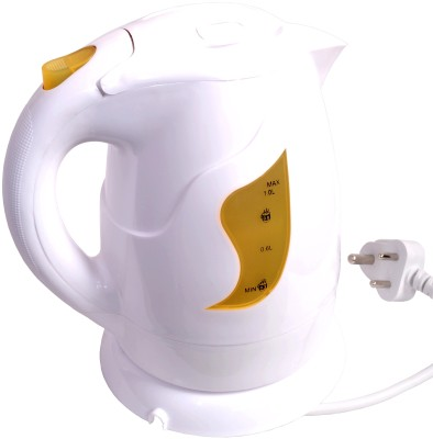 Orpat OEK-8127 Electric Kettle(1 L, Yellow)