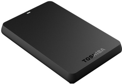 Toshiba Canvio Basics 3.0 500 GB Portable Hard Disk Drive