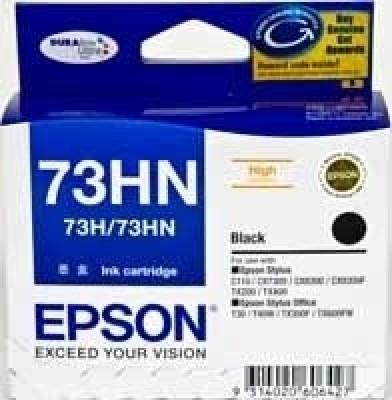 Epson 73HN Black Ink cartridge C13T104190