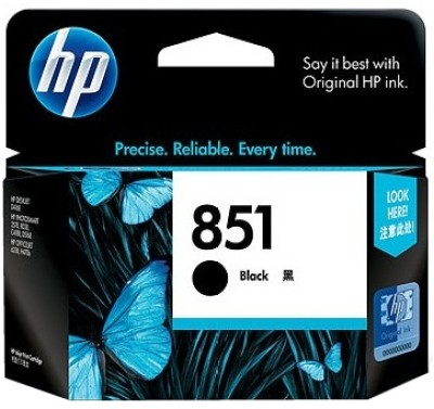 HP 851 Black Ink Cartridge(Black)