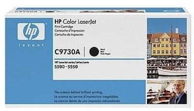 HP 645A Black LaserJet Toner Cartridge