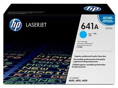 HP 641A Cyan LaserJet Toner Cartridge