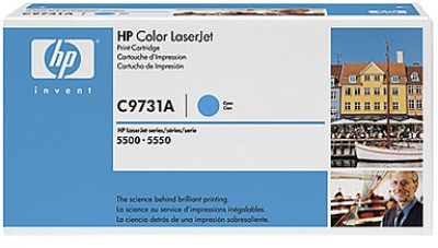 HP 645A Cyan LaserJet Toner Cartridge