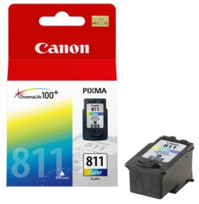 Canon CL 811 Tricolour Ink cartridge(Black, Magenta, Cyan, Yellow)