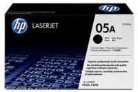 HP 05A Black LaserJet Toner Cartridge(Black)