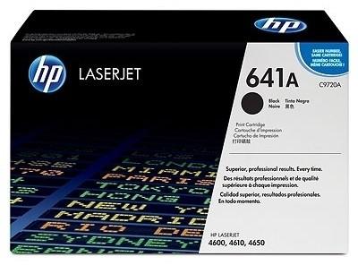 HP 641A Black LaserJet Toner Cartridge