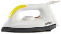 Usha 1602 LT TEFLON Dry Iron(White, Yellow)