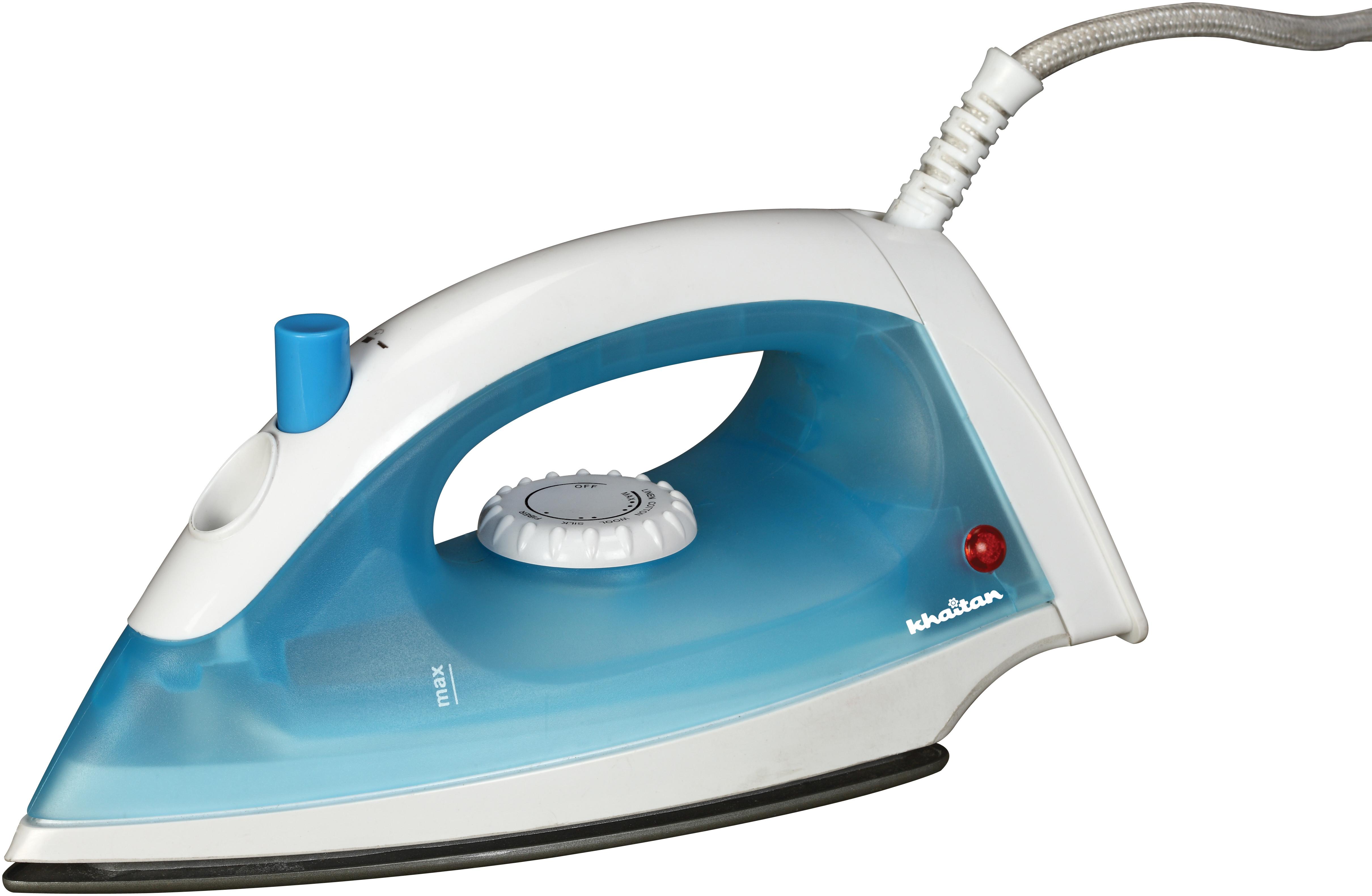 View Khaitan OCIOSteam Steam Iron(Blue) Home Appliances Price Online(Khaitan)