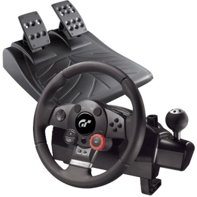 Logitech Driving Force GT(For PC, PS2, PS3)