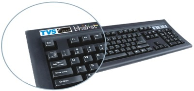 TVS-e Gold Bharat Wired USB Laptop Keyboard