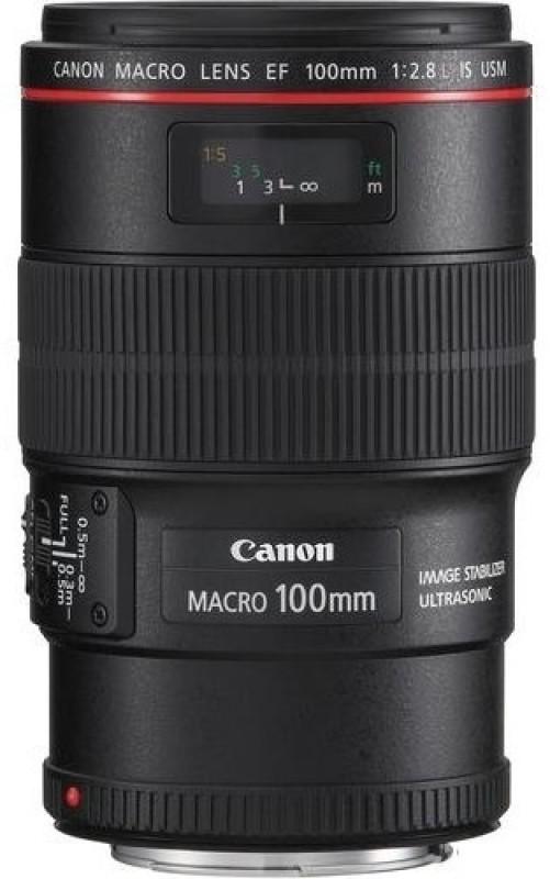 Canon EF 100 mm f/2.8L Macro IS USM  Lens