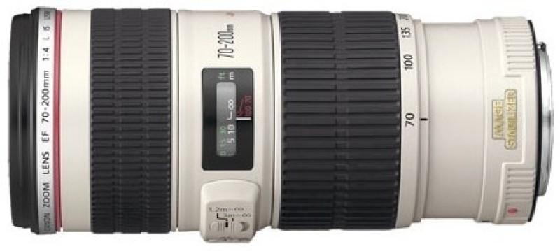 Canon EF 70 - 200 mm f/4L IS USM  Lens