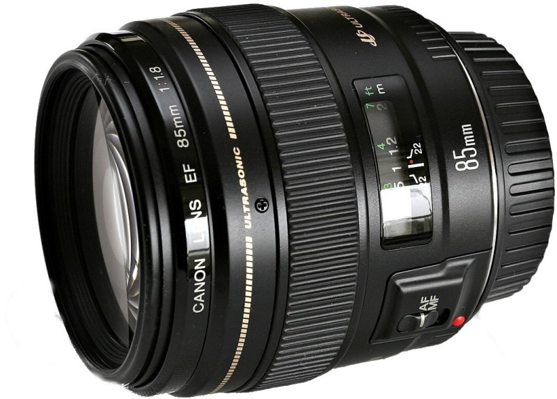 Canon EF 85 mm f/1.8 USM  Lens