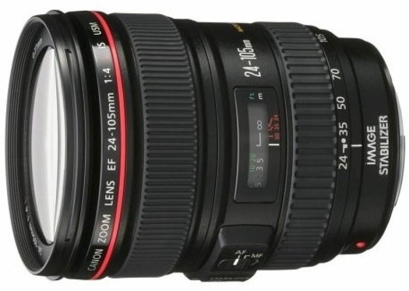 Canon EF 24 - 105 mm f/4L IS USM  Lens